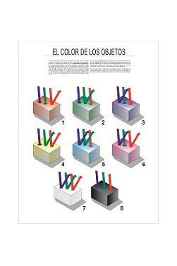 Carteles Didácticos - El Color de los Objetos