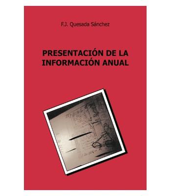 Presentación de la Información Anual